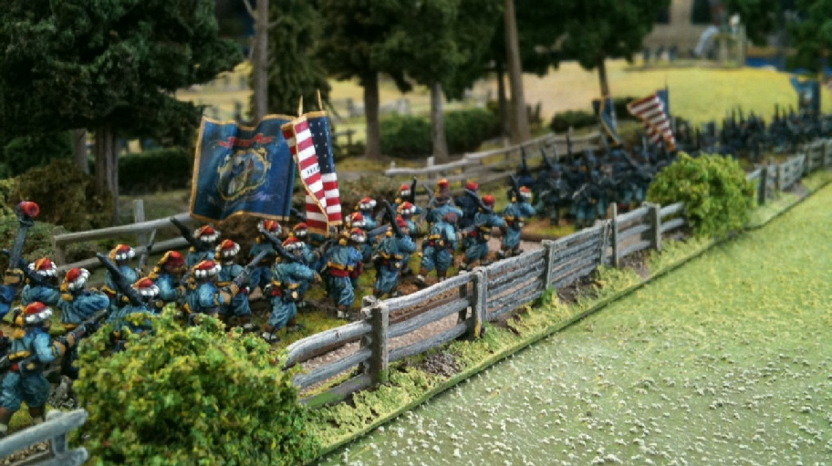 15mm ACW figures - marching