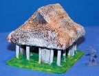 15mm Vietnam scenery - school hut