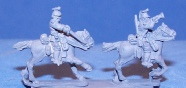 15mm WW1 figures - Uhlan command